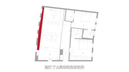 120平米的家,客厅竟有80平米!