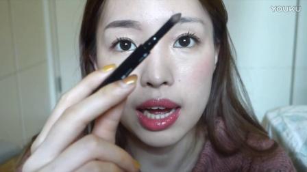 EVALIN x KATE l 自然眉毛教學,雙用立體眉彩筆超好用!