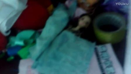 diy芭比娃娃的床
