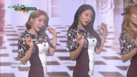 AOA - Excuse Me (170113 KBS Music Bank)