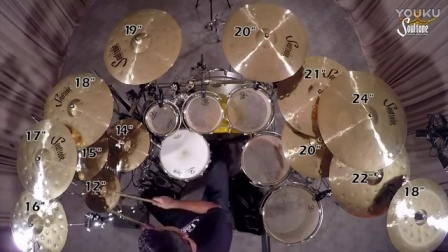 Soutlone Cymbals Heavy Hammered Prototype Drum Solo