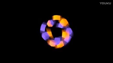 【万用片头系列】彩色旋转方块-运动模糊+材质变化测试【动画】