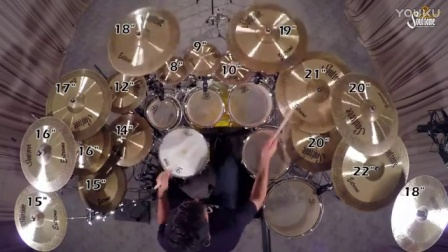 Soultone Cymbals Extreme Drum Solo - Asher Fedi