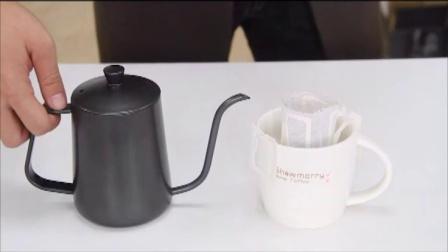 挂耳咖啡冲泡方法