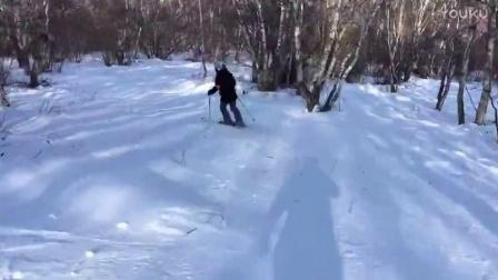 2017.1.15 长城岭小树林 双板滑雪