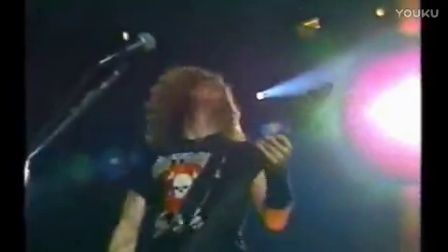 Metallica Stone Cold Crazy Live in 1991at Auburn Hills MI