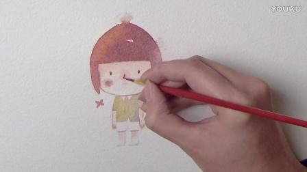 小孩子绘画过程  1080