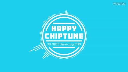 Happy Chiptune 3D MIDI Remix by CHR