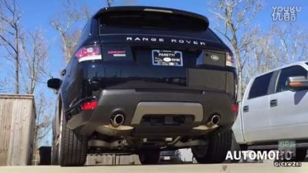 2016实拍路虎揽胜运动排气声浪Range Rover Sport_汽车之家价格测评测20167