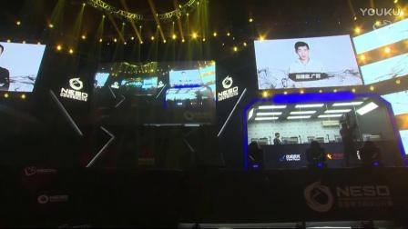 2016NESO全国电子竞技公开赛 炉石传说小组赛 包磊.上海 vs 陈建超广西