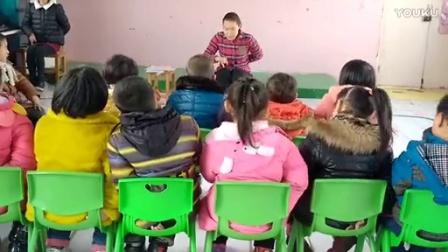 阳光地带爱心幼儿园 音乐课歌唱活动《三只猴子》_标清
