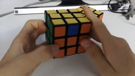 魔方教程7 三阶魔方一看就懂六面视频教程第七步【还原顶层棱块顺序】