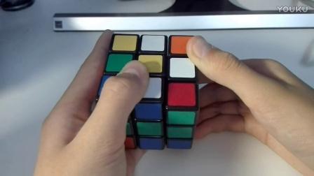 魔方教程1 三阶魔方一看就懂六面视频教程第一步【还原底层十字】