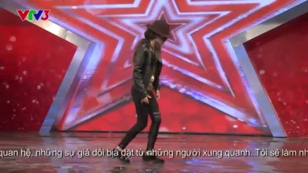 Vietnam's Got Talent 2014 - Nh?y Michael jackson - T?P 04 - H?ng Nhung
