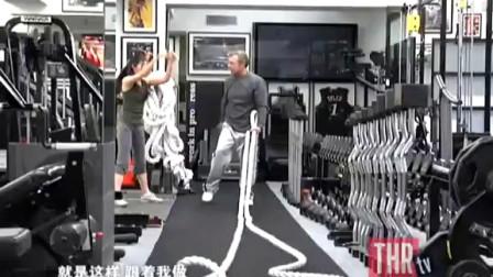 秧秧跟好莱坞明星教练学减肥