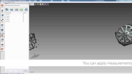 使用ScanReference 摄影测量工具和Artec 3D三维扫描仪对宝马汽车进行扫描