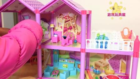 游戏玩具屋 芭比豪宅 的介绍