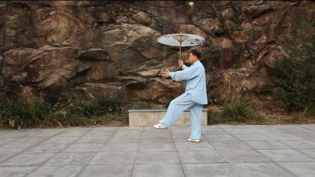 雨中太极传承人苏林弟 三十二式分解教学 第二部分 周中玉老师主讲
