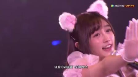 TOP15 天使的尾巴  费沁源 姜杉 张怡 SNH48第三屆年度金曲大賞