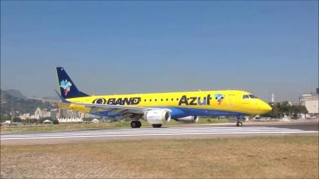 飞机迷-空客A319降落圣杜蒙特机场之二