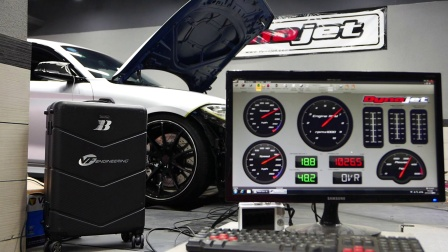 BBA Motorsport BMW F87 M2 VF STAGE 2 ECU 马力机实测