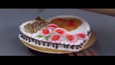 君之的手工烘培坊 如何在家做蛋糕 爱的礼物蛋糕