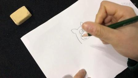 十二生肖简笔画:马