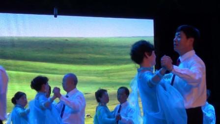 2015级交际舞高级1班表演【陪你一起看草原】