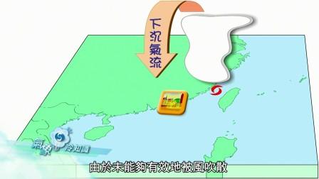 颱風核心的外圍