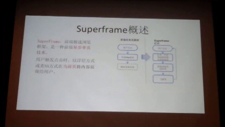 2016百度VIP大讲堂-superframe&MIP