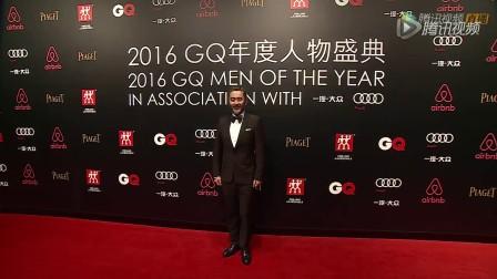 20160908吴秀波GQ年度人物颁奖盛典红毯