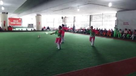 2016年吉安市区柔力球交流比赛如意队《春江