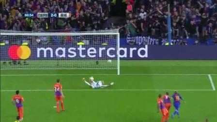 欧冠-梅西戴帽内马尔进球 2红牌 巴萨4-0胜曼城