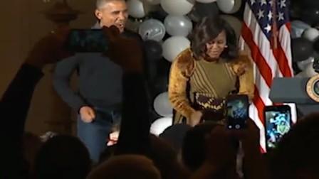 奥巴马跳颤栗