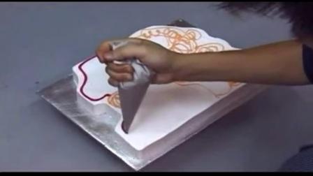 蛋糕裱花最基本的手法│蛋糕裱花技巧视频│生日蛋糕怎面包工坊