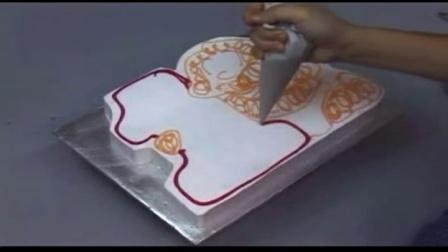 DIY手绘美甲 卡哇伊的蛋糕派面包机怎么做面包