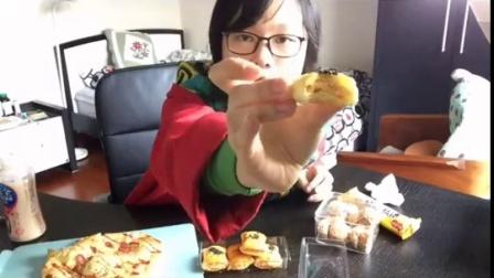 【加速版】面包+燕麦巧克力+饼干+酥。新年快乐🎆🎉🎊🎈