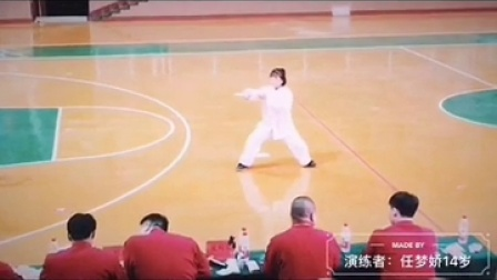 任明明太极拳
