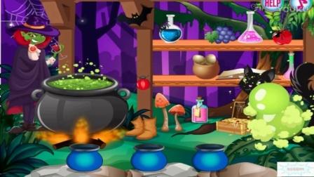 儿童童话公主与青蛙王子故事小游戏 公主亲青蛙变王子的故事 青蛙变公主国语版