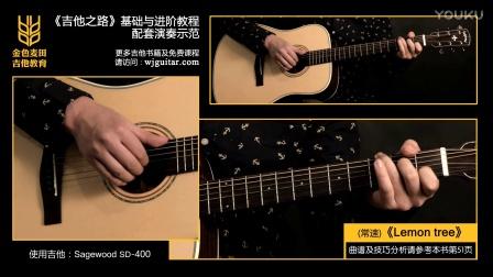 吉他弹唱《Lemon tree》吉他之路基础与进阶篇   演奏示范47