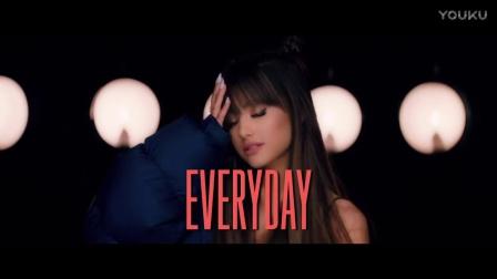 A妹Ariana Grande联手Future新单《Everyday》歌词版MV首播!