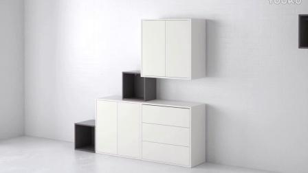 宜家家居IKEA_EKET 伊克特 储物件_无限可能性,可组合使用