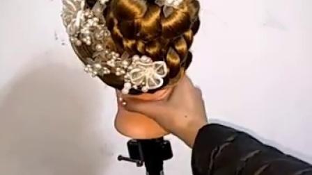 各种丸子头扎发马尾公主披肩发编发大全