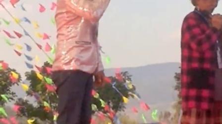 山歌比赛在弥勒市滇东南唱80岁的汤桂英山歌明星13649647435,20170202_171101