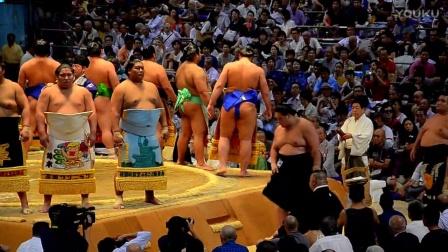 【陈小羊环游世界】2016年日本全国相扑锦标赛名古屋站赛事片段4