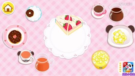 宝宝巴士-宝宝生日派对彩虹蛋糕宝宝巴士动画片游戏