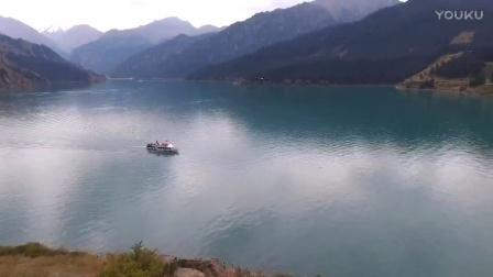 大美新疆-天山天池航拍