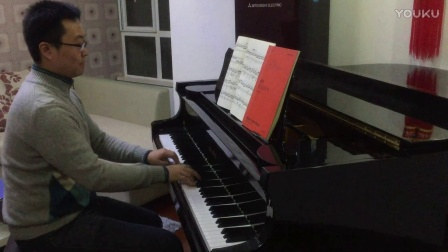肖邦练习曲《冬风》