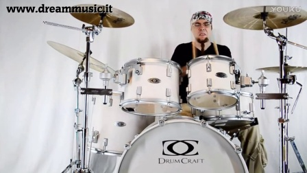 Drumcraft Dc8 Maple Serie 8 in Acero con Omar Campitelli @ Dream Music Studio 《1