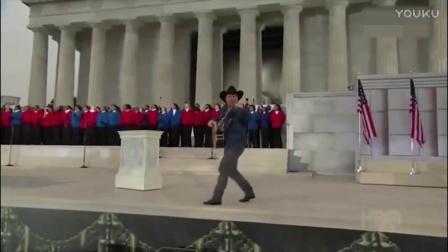 奥巴马随声合唱American Pie(美国派)